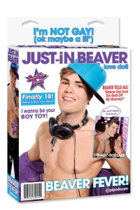 Кукла мужчина Just-​in-​beaver